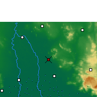 Nearby Forecast Locations - Lopburi - Mapa