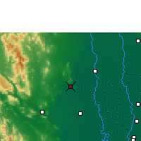 Nearby Forecast Locations - U Thong Agromet - Mapa