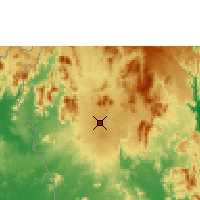 Nearby Forecast Locations - Pleiku - Mapa