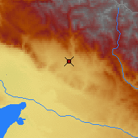 Nearby Forecast Locations - Altay - Mapa