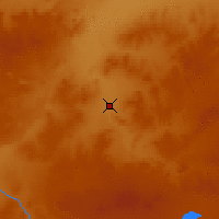 Nearby Forecast Locations - Xilinhot - Mapa