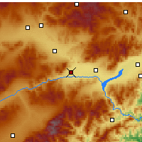 Nearby Forecast Locations - Zhuolu - Mapa