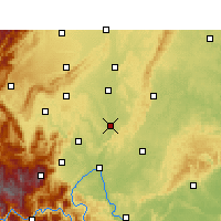 Nearby Forecast Locations - Qingshen - Mapa