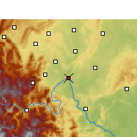 Nearby Forecast Locations - Leshan - Mapa