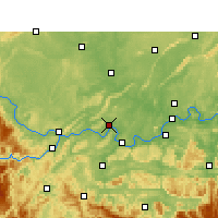 Nearby Forecast Locations - Nanxi/SCH - Mapa