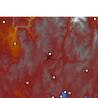 Nearby Forecast Locations - Wuding - Mapa