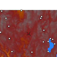Nearby Forecast Locations - Lufeng/YNN - Mapa