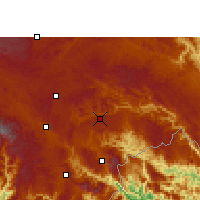 Nearby Forecast Locations - Xichou - Mapa