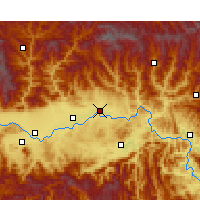 Nearby Forecast Locations - Yang Xian - Mapa