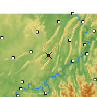 Nearby Forecast Locations - Yongchuan - Mapa