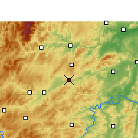 Nearby Forecast Locations - Xinhuang - Mapa