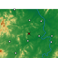Nearby Forecast Locations - Shaoshan - Mapa