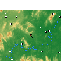 Nearby Forecast Locations - Qidong - Mapa