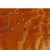 Nearby Forecast Locations - Huaxi - Mapa