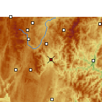 Nearby Forecast Locations - Sandu - Mapa
