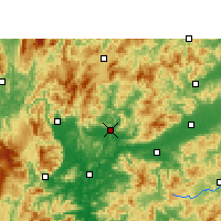 Nearby Forecast Locations - Renhua - Mapa
