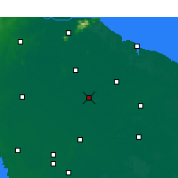 Nearby Forecast Locations - Guannan - Mapa