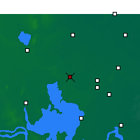 Nearby Forecast Locations - Siyang - Mapa