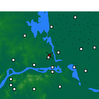 Nearby Forecast Locations - Yangzhou - Mapa