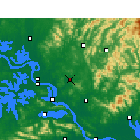 Nearby Forecast Locations - Xishui - Mapa