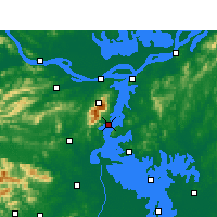 Nearby Forecast Locations - Xingzi - Mapa