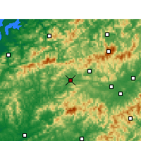 Nearby Forecast Locations - Qimen - Mapa