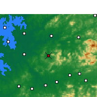 Nearby Forecast Locations - Wannian - Mapa