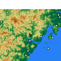 Nearby Forecast Locations - Yongjia - Mapa