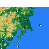 Nearby Forecast Locations - Wenling - Mapa