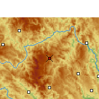 Nearby Forecast Locations - Leye - Mapa