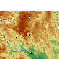 Nearby Forecast Locations - Lingyun - Mapa
