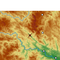 Nearby Forecast Locations - Tianlin - Mapa