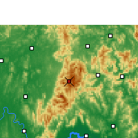 Nearby Forecast Locations - Jinxiu Yao - Mapa