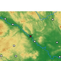 Nearby Forecast Locations - Pingguo - Mapa