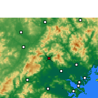 Nearby Forecast Locations - Fengshun - Mapa