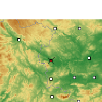 Nearby Forecast Locations - Longzhou - Mapa