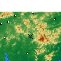 Nearby Forecast Locations - Xinyi - Mapa