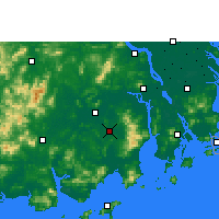 Nearby Forecast Locations - Taishan - Mapa