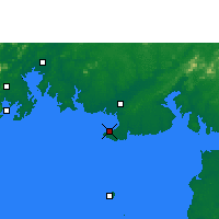 Nearby Forecast Locations - Beihai - Mapa