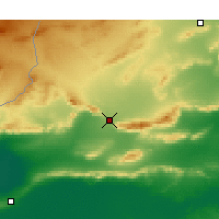 Nearby Forecast Locations - Gafsa - Mapa