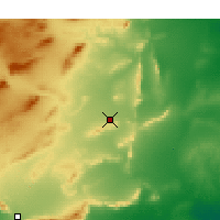 Nearby Forecast Locations - Sidi Bouzid - Mapa