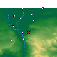 Nearby Forecast Locations - El Cairo - Mapa