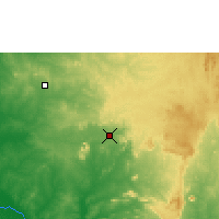 Nearby Forecast Locations - Abuya - Mapa