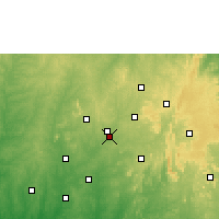 Nearby Forecast Locations - Osogbo - Mapa
