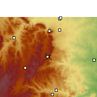 Nearby Forecast Locations - Graskop - Mapa