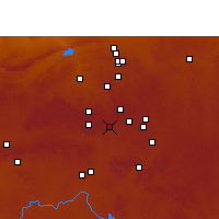 Nearby Forecast Locations - Germiston - Mapa