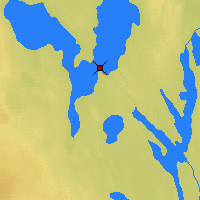 Nearby Forecast Locations - Buffalo Narrows - Mapa