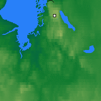 Nearby Forecast Locations - Kugaaruk - Mapa