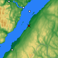 Nearby Forecast Locations - Rivière-du-Loup - Mapa