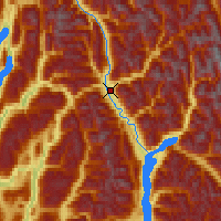 Nearby Forecast Locations - Revelstoke - Mapa